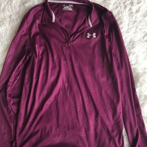 Like new Under armour 1/4 zip